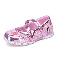 Light Up Shoes-Lapos-Női cipő-Lapos-Alkalmi-Tüll-Rózsaszín Piros