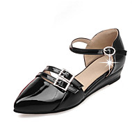 Women's Shoes Patent Leather Spring / Summer / Fall Mary / D'Orsay & Two-Piece / Pointed Toe Flats Office & Career