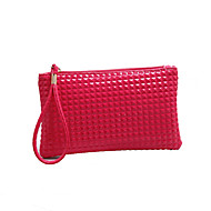 Women PU Casual Evening Bag Pink / Blue / Yellow / Red / Black