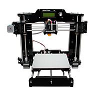 geeetech allemaal zwart acryl prua i3 x 3D-printer (1.75mm filament 0.3mm nozzle)
