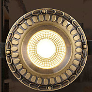 5 Spot Light ,  Vintage Brass Feature for Designers Metal Living Room / Study Room/Office