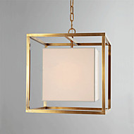 Retro Fashion Iron Gold Pendant Lights Bedroom Living Room Restaurant European Art Pendant Light