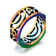 Karikagyűrűk Rozsdamentes acél Divat Ékszerek Napi Hétköznapi 1db