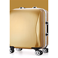 Unisex PVC Outdoor Luggage Pink / Gold / Silver