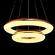 66W מנורות תלויות ,  מסורתי/ קלאסי Electroplated מאפיין for LED מתכת חדר שינה / חדר אוכל / חדר עבודה / משרד / חדר ילדים / מסדרון / מוסך