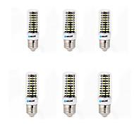 9W E14 G9 GU10 E26/E27 B22 LED лампы типа Корн B 80 SMD 5733 800 lm Тёплый белый Холодный белый Декоративная AC 220-240 V 6 шт.