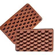 1 Backen Kuchen dekorieren / Backen-Werkzeug Kuchen / Plätzchen / Chocolate Silikon Backformen