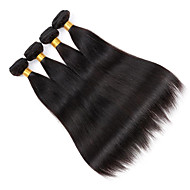4Bundles/Lot 100g/pcs Virgin Human Hair Silky Straight Unprocessed Hair Products Cheap Hair