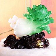 Resin Crafts Imitation Hade Cabbage Ornaments Home Decorations
