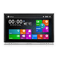 2 Din 8 inch 800*480 Car DVD Player with GPS Navi Radio in Dash Built-in 3G Wifi BT iPod/iPhone SWC USB/SD