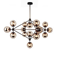 Ecolight™ Chandeliers 15 Lights/Glass Ball Lights/ Retro Living Room / Hallway / Outdoors / Garage Metal