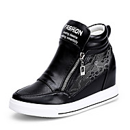 Men's Sneakers Spring / Summer Wedges Synthetic Office & Career / Dress / Casual Flat Heel Others Black / White Others
