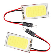 10pcs T10 COB 21 SMD LED Light Panel Car Auto Interior Reading Map Parking Bulb Lamp BA9S Festoon Dome (DC12V)