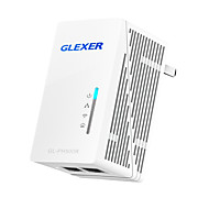 powerline netværk glexer 500m powerline router (gl-ph500r)
