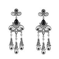 Earring Geometric Jewelry Women Bohemia Style Wedding / Party / Daily / Casual Alloy 1 pair Silver