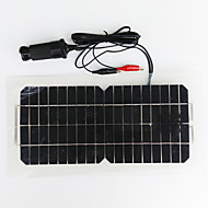 zdm® 5.5W 12v monocristalino usb saída de painel solar de silício (dc12-18v)