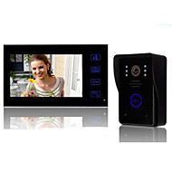 Night Vision Visual Electronic Doorbell Electronic Eye Camera With Do Not Disturb Random Color