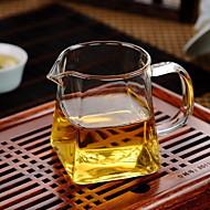 høy temperatur glass fortykket rettferdig cup rektangulær bunn rundt munnen cup