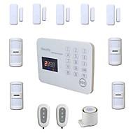 com fio sistemas de alarme gsm kit sistema de lcd voz segurança home do toque casa de assaltante alarma wireless Android IOS aplicativo