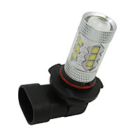 2kpl HB4 6000K 9006 80W johti auton ajovalojen sumuvalo lampun Super kirkas valkoinen