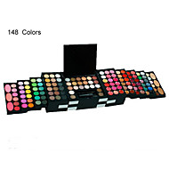 2016 Professional 148Makeup Set Pro Full Color Eyeshadow Color Lip Gloss Blusher Palette Kit Cosmetics Pressed Powder