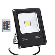 HRY® 20W RGB with Remote Control Outdoor Lamp Security IP65 Waterproof Led Flood Light(85-265V)