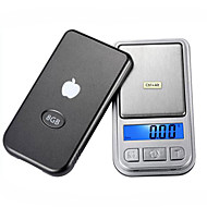 Precision Electronic Jewelry Pocket Scale (100g/0.01, 200g/0.01, 500g/0.1)