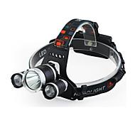 Čelovky LED - / Cree Q5 Cyklistika Snadnépřenášení 18650 400 Lumenů Baterie Cyklistika