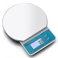 pečení kuchyně elektronické váhy elektronické váhy přesnost 0,1 (prodej 2 kg / 0,1 + pánev nerezové oceli llarge podnosy)