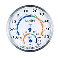 anymetre th702f / th-2f rozsdamentes acél hőmérséklet és páratartalom mérő