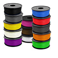 400(m) 3 D Printer Supplies 1.75 Mm Abs 1 Kg Of A Roll  ,1.0(g/cm3),Random Color