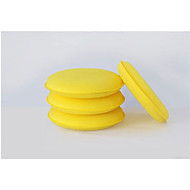 voks små runde svamper standard damp bilvask svamp verktøy voks, rengjøring svamper