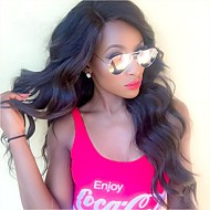 Indian Remy human hair 8-24inches Natural Natural Wave Side Part full or lace front Celebrity Style Wigs for Women