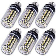12W E14 / E12 / E26/E27 LED-lampa T 130 SMD 5736 1500 lm Varmvit / Kallvit Dekorativ AC 85-265 / AC 220-240 / AC 110-130 V 6 st