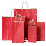 beklædningsgenstand mobil indkøbspose gavepose gave emballage, kan kraftpapir poser tilpasses logo en pakke med ti