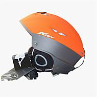AIDY® Capacete Unisexo Capacete Desporto neve Ultra Leve (UL) / Esportivo Capacete de Segurança Laranja Capacete de neve CE EN 1077PC /