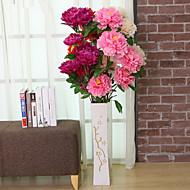 1 1 ענף פוליאסטר / פלסטיק אדמוניות / Others פרחים לרצפה פרחים מלאכותיים 47.241inch/120cm