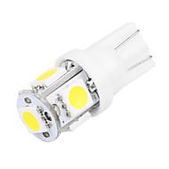 10 pcs 1.5W t10 5smd 5050 cauda DC12V porta luz de placa luz luz branca / azul / vermelho / amarelo / verde