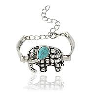 Bracelet Chain Bracelet Alloy Animal Shape Fashion Jewelry Gift Silver,1pc