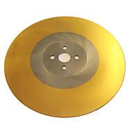 revêtement de titane lames à grande vitesse importé scie circulaire scie à métaux lame coupe morceau super-une lame en acier inoxydable