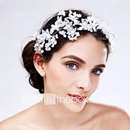 Femme Acrylique Casque-Mariage Occasion spéciale Fleurs 1 Pièce