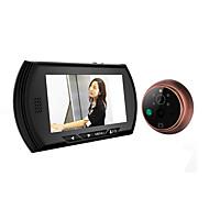 4.3 LCD цветной экран дверной звонок цифрового телезрителя двери глазок камеры двери для глаз видео запись 140 градусов ночного видения