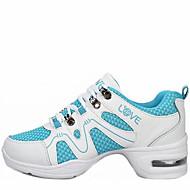 Sapatos de Dança(Azul / Branco / Fúcsia / Outro) -Feminino-Não Personalizável-Moderna
