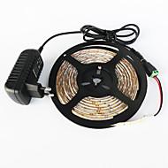 z®zdm waterdichte 5m 300x3528 wit / warm wit licht geleid EU / VS / uk AC110-240V naar dc12v2a transformator