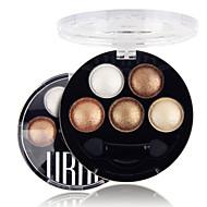 5 Color in 1 Palette Oogschaduwpalet Droog / Mat / Glinstering Oogschaduw palet Poeder NormaalDagelijkse make-up / Feeërieke make-up /