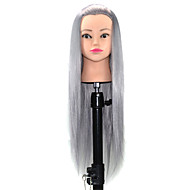 Mannequin Head Salon Hairdressing Cut Training Professional Mannequin Hairdressing 24 inch Wash Hat Haircut with Holder