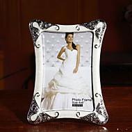 European Simple Diamond 6 Inch Photo Frame