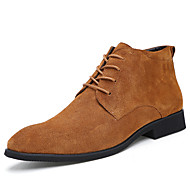 Men's Boots Spring / Summer / Fall / Winter Boots Leather Office & Career / Party & Evening / Casual Flat Heel Slip-on