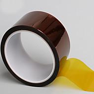 3j goldfinger fita de filme de poliimida fita de alta temperatura fita fita marrom fita de calor 33 metros