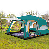 CAMEL >8 persons Tent Triple Family Camping Tents Three Rooms Camping Tent >3000mmWell-ventilated Waterproof Ultraviolet Resistant